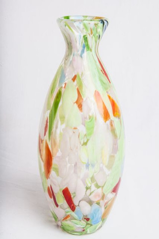 Multicolor Glass Vase Rental Austins Elite